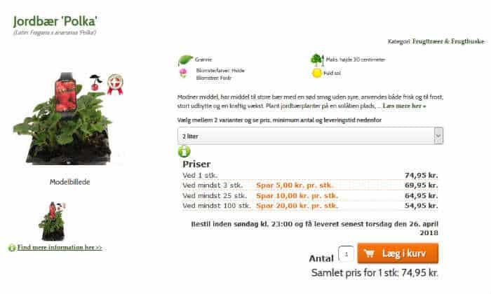 find spiselige haveplanter gratis eller billigt