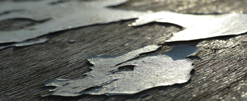 Sørg for at vedligeholde træværket
