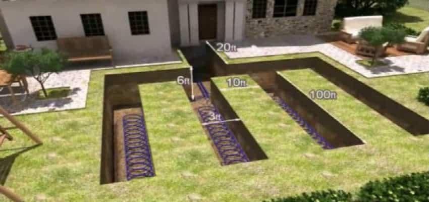 grav render til jordvarmeslanger