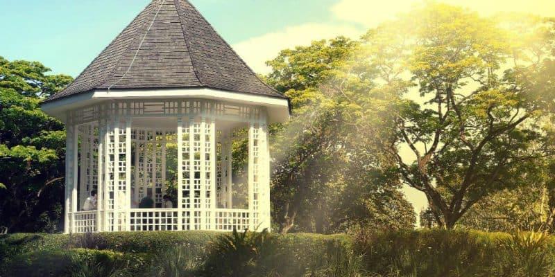 køb en smuk pavillon til haven