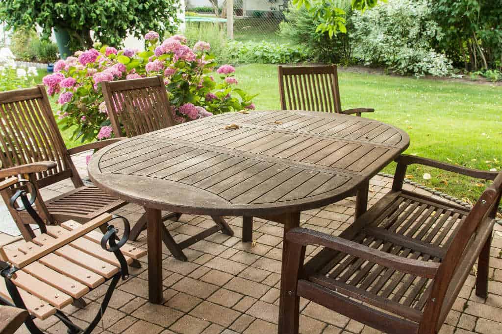Maling af havemøbler til vedligeholdelse