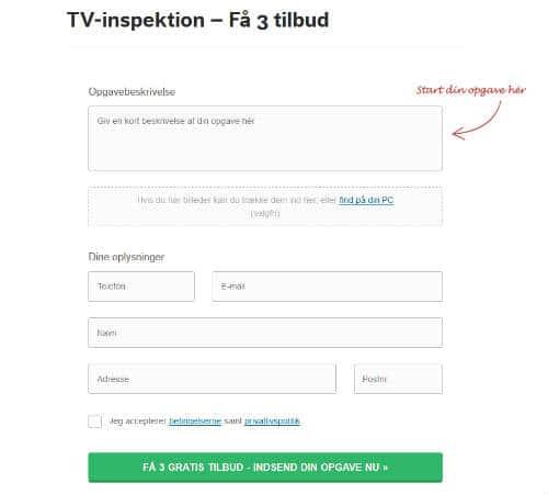 Få 3 tilbud på tv-inspektion af kloak