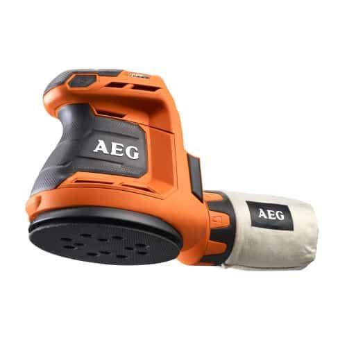 AEG BEX18-125-0 bedst i test excentersliber