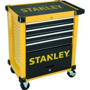 Stanley værktøjsvogn inkl. 168 dele værktøj