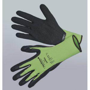 Havehandske Comfort, grå/sort - Tynd og smidig nylonhandske