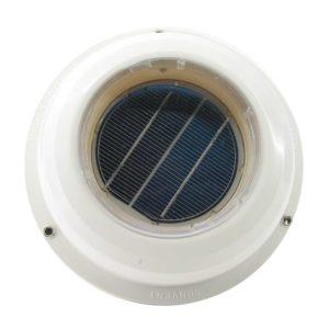 Lexan solcelle-ventilator