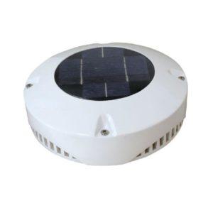 Solcelle ventilator 24 timer